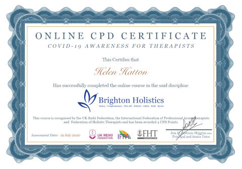 Covid-19 awareness certification